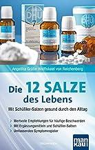 Die 12 (Zwölf)  Salze des Lebens - Mit Schüßler-Salzen gesund durch den Alltag: Wertvolle Empfehlungen für häufige Beschwerden. Mit Ergänzungsmitteln und Schüßler-Salben. Umfassendes Symptomregister