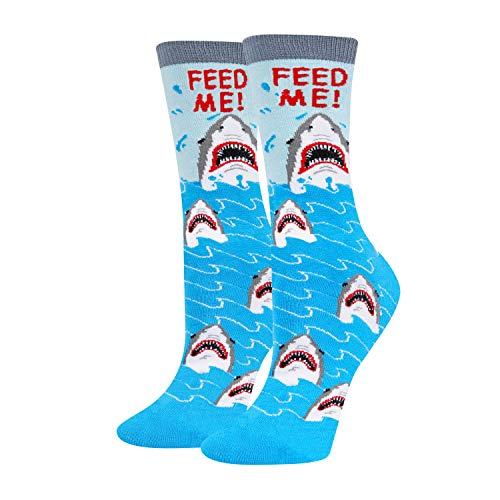 """Feed Me!"" Shark Socks"