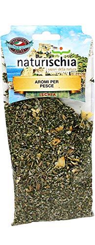 Naturischia - 3 confezioni di Aromi per pesce 100 gr. ciascuna - Prodotto tipico Ischia