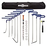 Mookis Dent Removal Rods Set Paintless Dent Repair Tools for Car Dent Remover Puller Hail ...