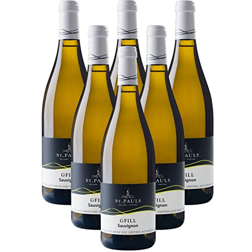 GFILL Sauvignon - Südtirol Alto Adige DOC Kellerei St.Pauls Cantina Produttori San Paolo (6 flaschen 75 cl.)