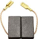 Escobillas de Carbón para VIRUTEX LB31E lijadora - 6,4x10x20,5mm - 2.4x3.9x7.9''
