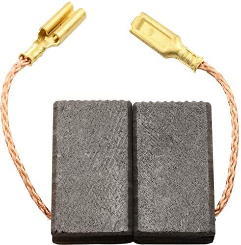 Escobillas de Carbón para VIRUTEX TM33E tronzadora - 6,4x10x20,5mm - 2.4x3.9x7.9
