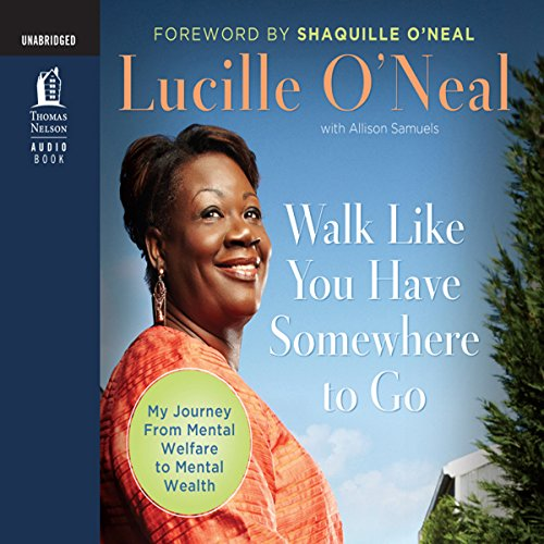 Walk Like You Have Somewhere to Go audiobook cover art