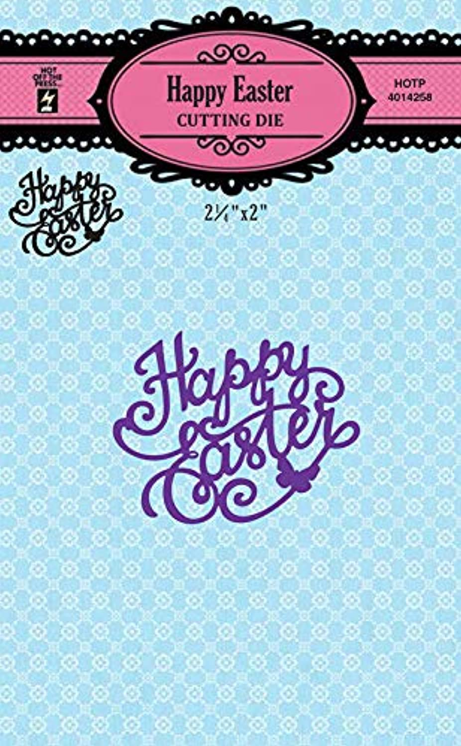Cutting Die Set by Hot Off The Press | Scrapbooking, Card Making, Gifts and Home Decor – Inspiration at Your Finger Tips (Happy Easter)