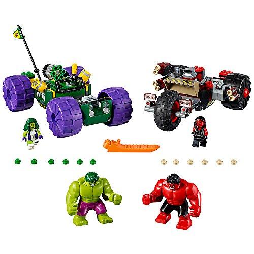 LEGO Marvel Super Heroes Hulk vs. Red Hulk 76078 Superhero...