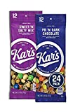 Kar's Nuts Variety Pack Trail Mix Snacks - Sweet 'N Salty Mix, Peanut Butter 'N Dark Chocolate Individual Packs (Pack of 24)