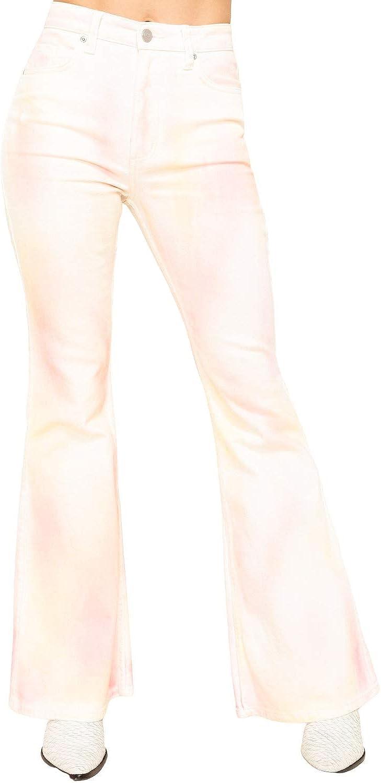 Lee Women's Tie Dye High Rise Flare Jeans