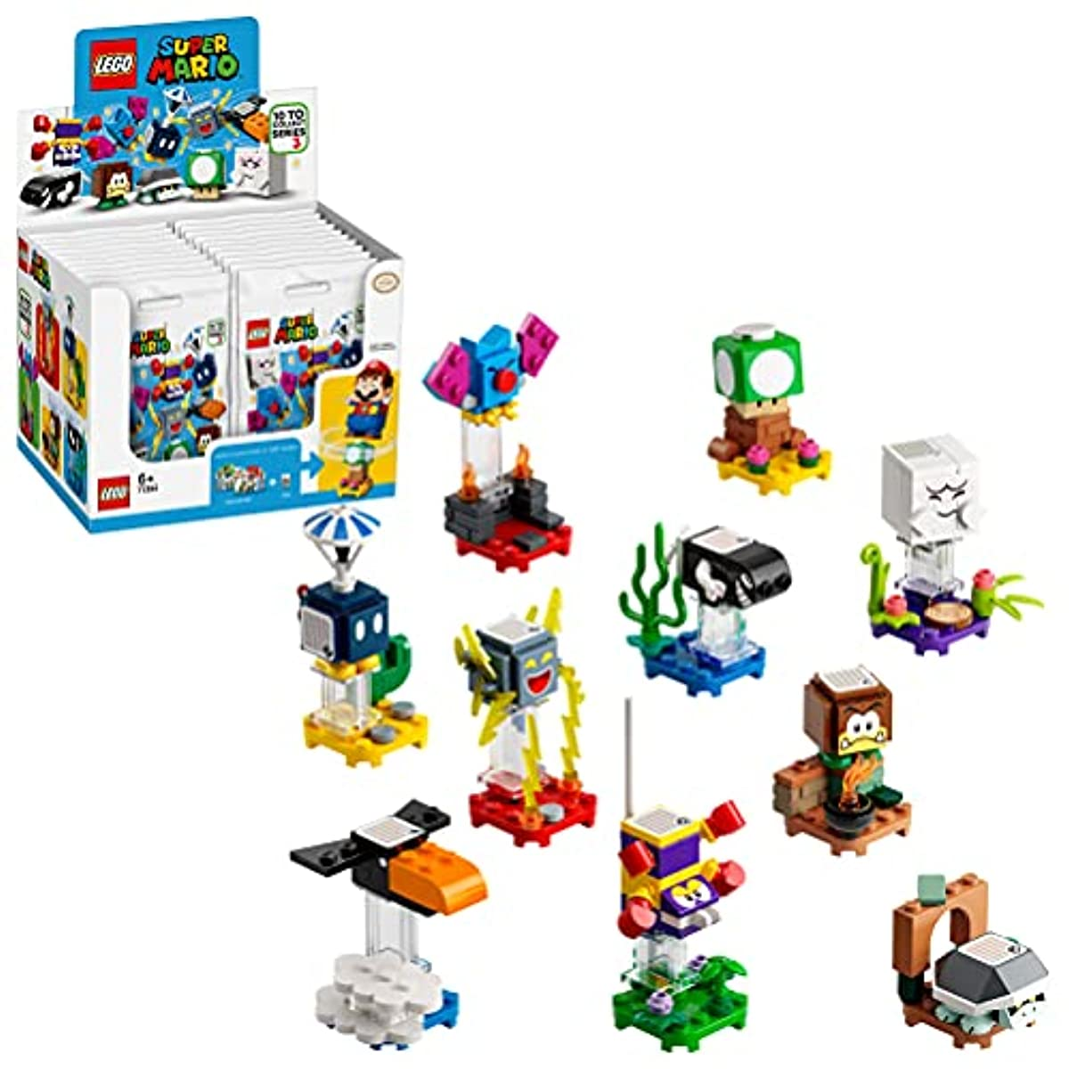 [해외] 레고(LEGO) 슈퍼마리오 캐릭터팩 시리즈 3(18팩) 71394