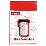 elegantamazing - Pieza de Repuesto para batería de Litio de 3,7 V 500 mAh para dron SYMA X5UW RC, Color Blanco