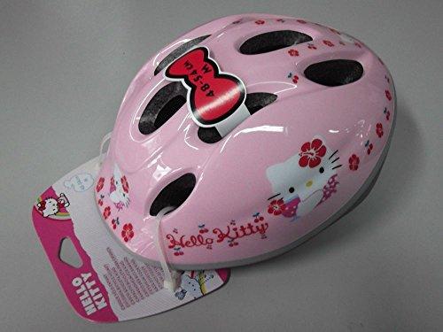 Casco de bicicleta para niña Helmet Kids Ironway original Hello Kitty Pink Cubes talla 48-54