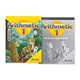 Grade 1 Arithmetic Child Kit - Abeka 1st Grade Mathematics Student Workbook, Tests, and Speed Drills Combo Pack