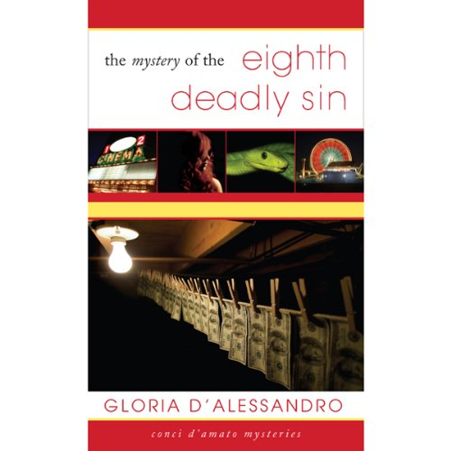 The Mystery of the Eighth Deadly Sin audiobook cover art