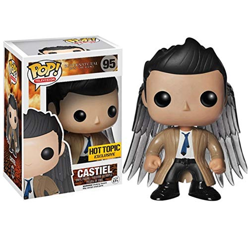 Funko Pop Television : Supernatural - Castiel with Wings Collectible Action Figure Multicolor #95 for Boy