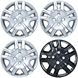 CoverTrend (Set of 4 Pack) fits 2007 2008 2009 2010 2011 2012 NISSAN SENTRA 16' INCH Replica Bolt On Hub Caps - Wheel...