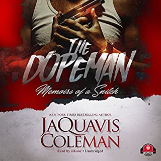 The Dopeman audiobook cover art