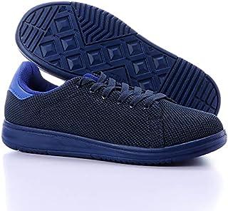 Starter Nylon-Mesh Contrast Leather Heel-Tab Unisex Walking Shoes 39