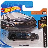 Hot Wheels Ford Focus RS Nightburnerz 9/10 2019 (139/250) Short Card