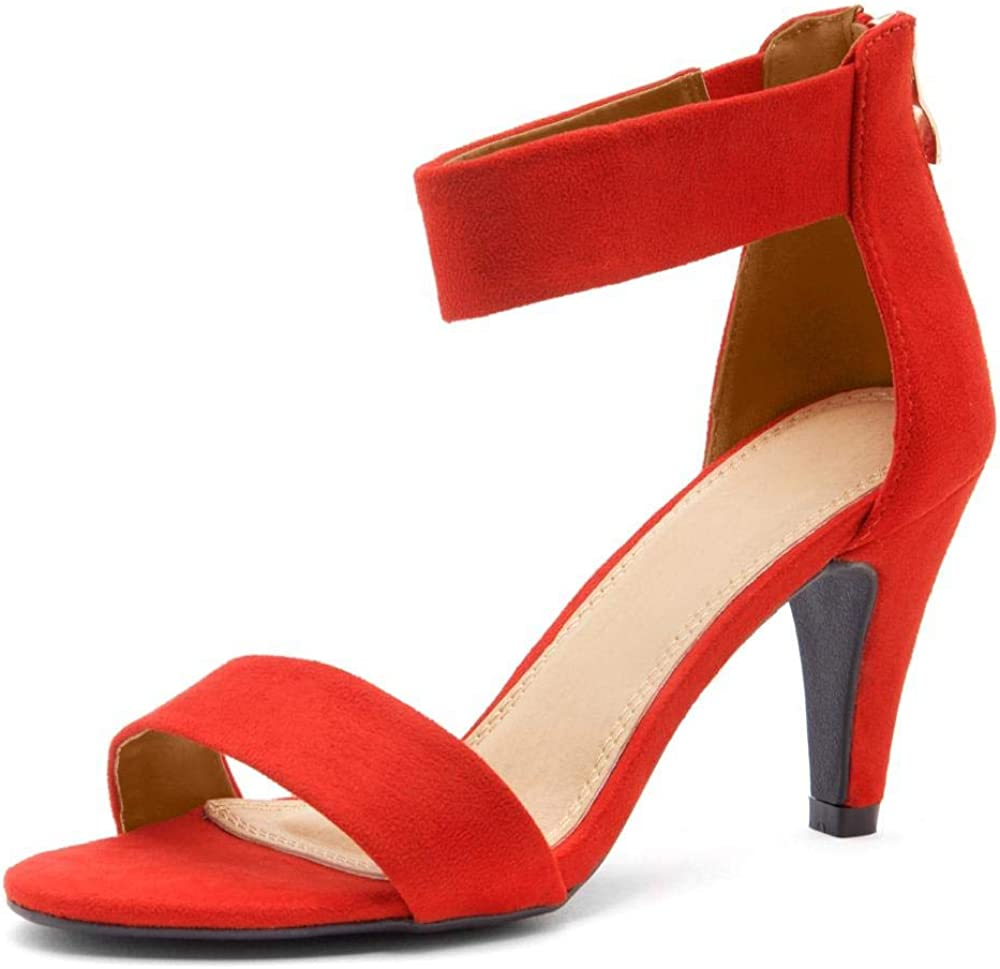 Sales for sale Herstyle RROSE Quantity limited Women's Open Toe High Dress Wedding E Party Heels