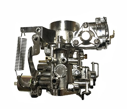 Chrome 34 PICT Carburetor fits: VW Bug Bus Thing Buggies Ghia 34 PICT-3 CARBURATOR with 12V...