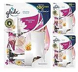 Glade - Ambientador Eléctrico Líquido con aceites esenciales, aroma Relax Zen, hasta 100 días,...