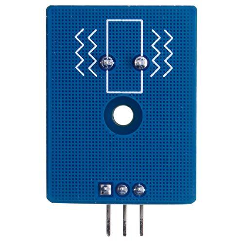 52Pi Vibration Sensor Module Ceramic Piezo Analog Signal for Raspberry Pi/MCU STM32 / ESP32 3Pcs
