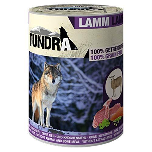 Tundra Hundefutter Lamm Nassfutter - getreidefrei (6 x 800g)