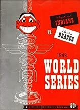 World Series Program 1948 Boston Braves vs Cleveland Indians At Municpal Stadium