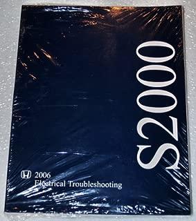 2006 Honda S2000 Electrical Troubleshooting Manual (ETM)