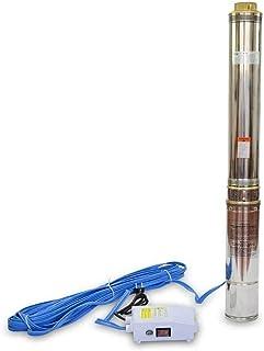 comprar comparacion AgoraDirect - Bomba De Agua Sumergible Para Pozo, 1100W/1.5CV, 6m3/h, Acero Inoxidable, Profundidad Máxima 117m, Cable Elé...