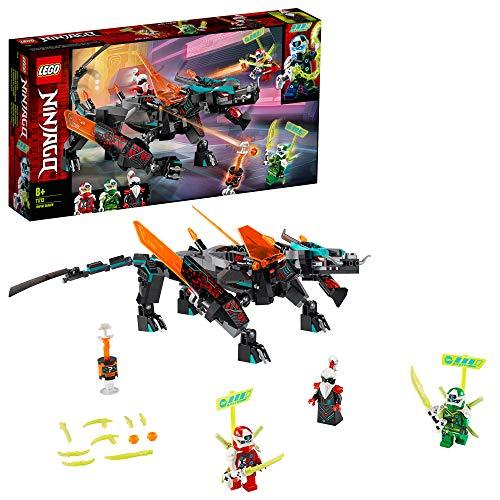 LEGO Ninjago, Le Dragon de l'empire, Set de Construction avec 3 Figurines, Jouet Ninja pour Enfants, 286 pièces, 71713