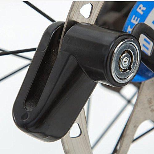 Sécurité Anti Vol Heavy Duty Résistant Aux Intempéries Moto Vélo Cyclomoteur Scooter Disque Rotor Lock Avec 3 Clés