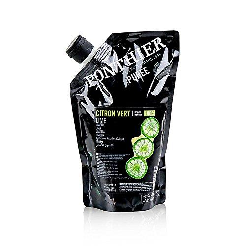 Püree- Limetten Püree/Saft, 100% Frucht, ungezuckert, 1 kg