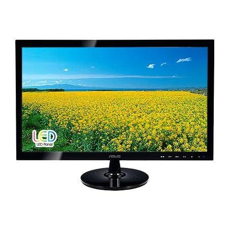Asus Vw22at 55 9 Cm Monitor Schwarz Computer Zubehör