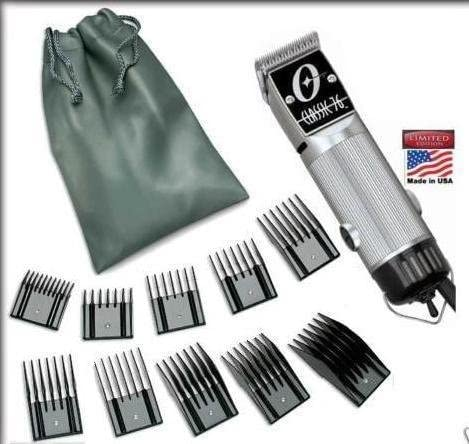 popular Combo New Oster Classic 76 Limited Edition Hair Clipper (Made in USA) Very online sale Hard to online sale find Model Free (10 Piece Universal oster Comb Set) outlet sale