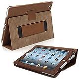 iPad 2 Case, Snugg Leather Smart Case Cover [] Apple iPad 2 Protective