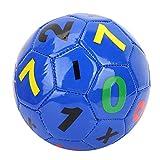 SolUptanisu Balón de Fútbol, Pelota de Fútbol Tamaño 2 Fútbol Juguetes Balón de Fútbol de Entrenamiento Deportivo al Aire Libre Ejercicio para Niños Principiantes,Número Púrpura
