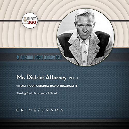 Mr. District Attorney, Vol. 1 audiobook cover art