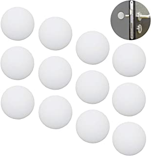 Shintop Adhesive Door Bumpers, Door Knob Bumper Pads Stopper for Home, Bedroom, Kitchen and Office Wall Protectors(White, 20 Pieces)
