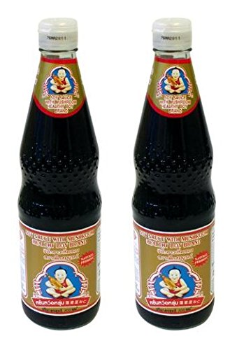 Healthy Boy Brand Mushroom Soy Sauce, 23.5 Ounce (Pack of 2)