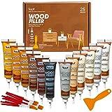 Katzco Furniture Repair Wood Fillers - Set of 25 - Resin Repair Compounds and...
