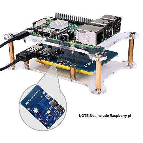 Battery Power Supply for Raspberry Pi 2: Amazon com