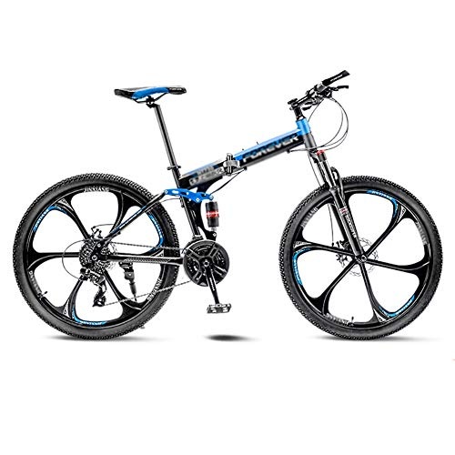 Affordable TOOLS Mountain Bike Road Bicycle Folding Men's MTB Bikes 21 Speed 24/26 Inch Wheels for A...