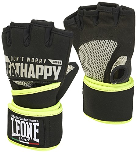 LEONE 1947 Power Guanti Da Fit Boxe, Unisex – Adulto, Nero, M