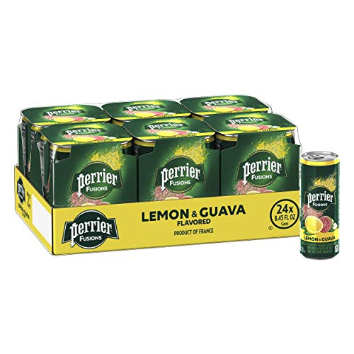 Perrier Fusions, Lemon and Guava...