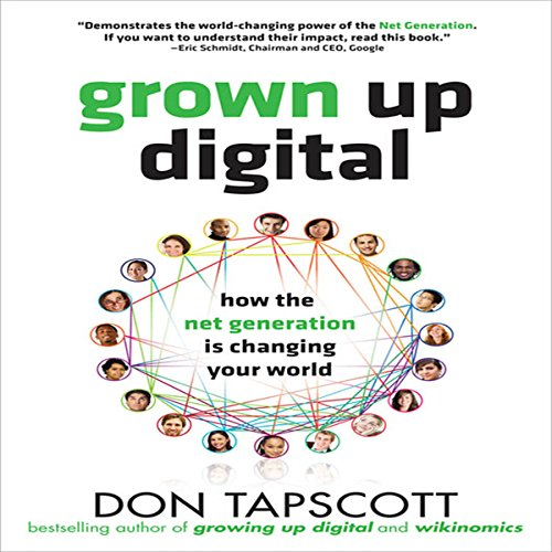 Grown Up Digital audiobook cover art