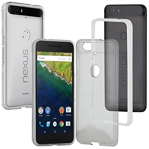 Case-Mate Naked Tough Cover Case for Motorola Nexus 6 - Clear
