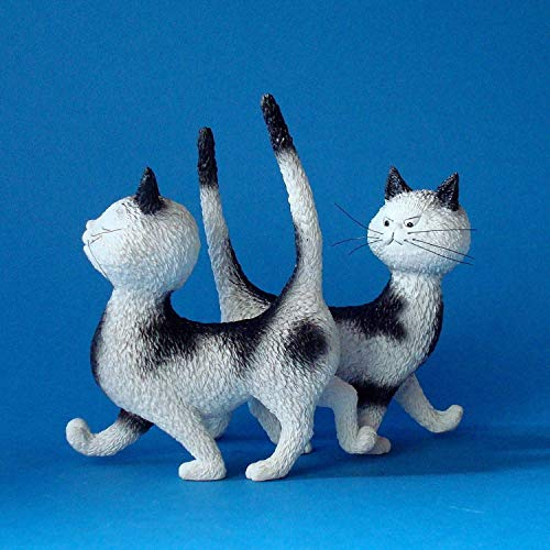 Cats by Dubout Figurine - HECK, THE SAME DRESS by Cats Dubout