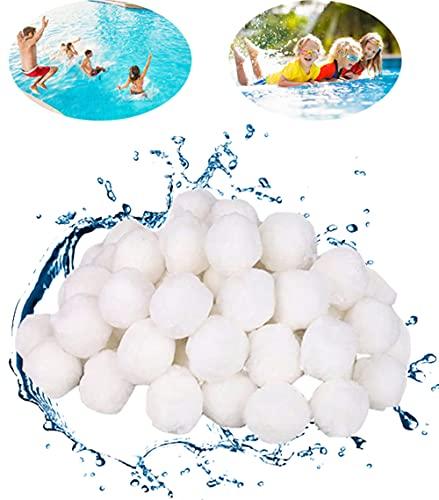 LCW-Direct 700g Filterbälle Filter Balls für Pool, Sandfilteranlagen, Schwimmbad, Filterpumpe, Aquarium Sandfilter,Kann 25 kg Filtersand Ersetzen