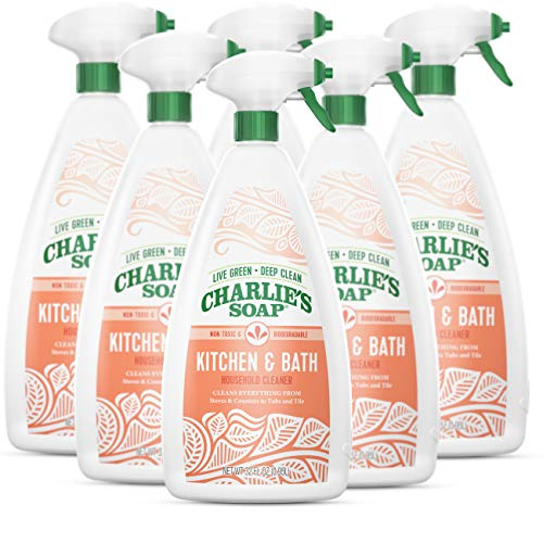 Charlie's Soap Kitchen & Bath Household Cleaner Spray